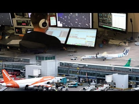 Inside Manchester Airport - The Effects Of Infringing Controlled Airspace