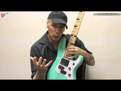 Billy Sheehan Talks About His Signature Yamaha Bass Before His Show with The Flo Guitar Enthusiasts
