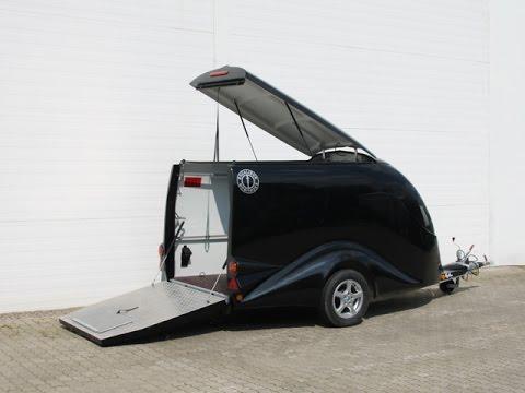 motorradanh nger excalibur s1 schwarz metallic koch pkw. Black Bedroom Furniture Sets. Home Design Ideas