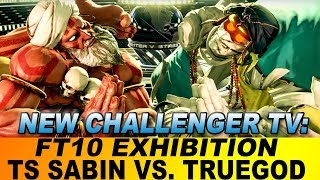 New Challenger Exhibition TS Sabin vs. TrueGod FT10 Grand Master Dhalsims (4k/60fps)