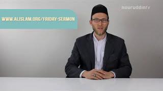 Die Khutba Folge 22 - 29.05.2015 Majlis Khuddam ul Ahmadiyya Deutschland NuuruddinTV