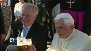 Bayern gratulieren Benedikt XVI. zum 90. Geburtstag