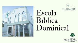 25/10/2020 - Culto Bel. Diego H. / EBD Tema: Sola Fide Rev. Auverânio #live