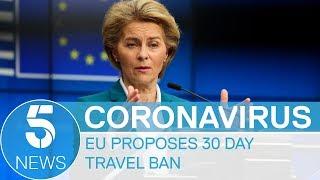 Coronavirus: US cities lockdown as EU considers 30-day travel ban