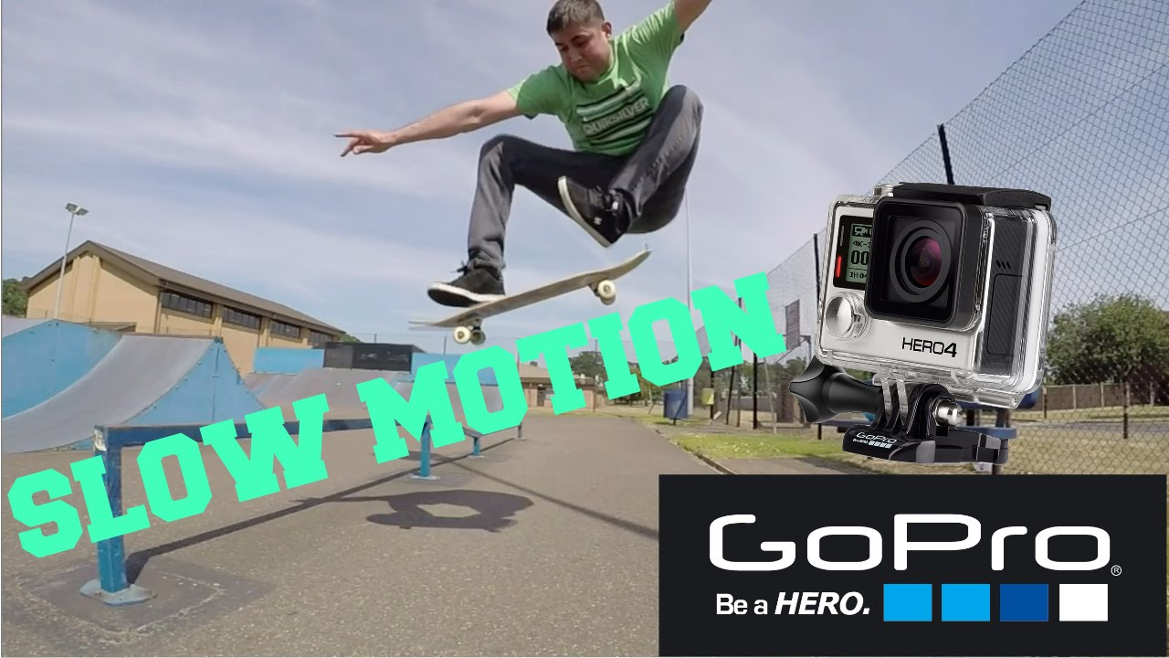 how to make go pro silverslow motion