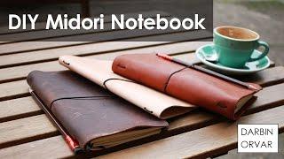 DIY Midori Style Travelers Notebook