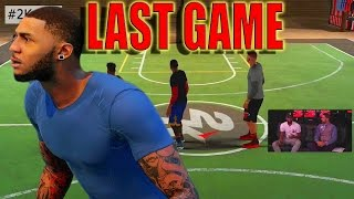 Last Game Vs KYRIE IRVING my teammates SUCK!!! NBA 2K16 MY PARK