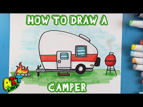 How to Draw a CAMPER!!!