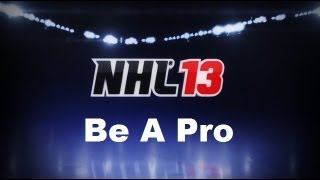 NHL 13 Be A Pro Part 1 (Start With A Bang!!!)