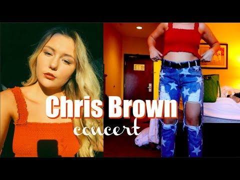 GRWM Chris Brown Concert   Olivia Palmer