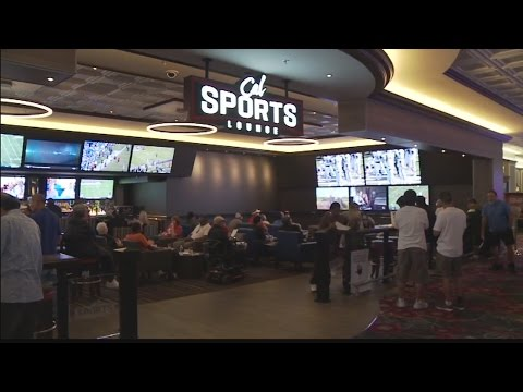 Las Vegas Week: The Brand New Sportsbook and Holoholo Bar at the California Hotel
