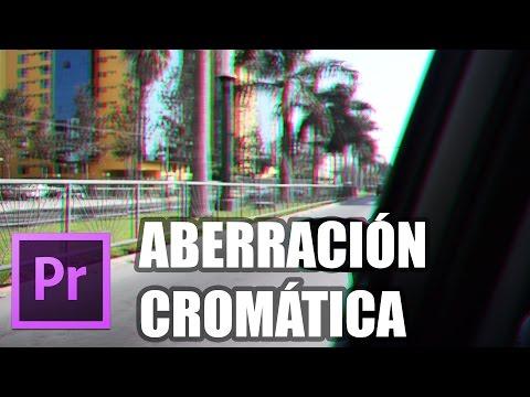 Adobe Premiere Pro - Efecto de Aberración Cromática