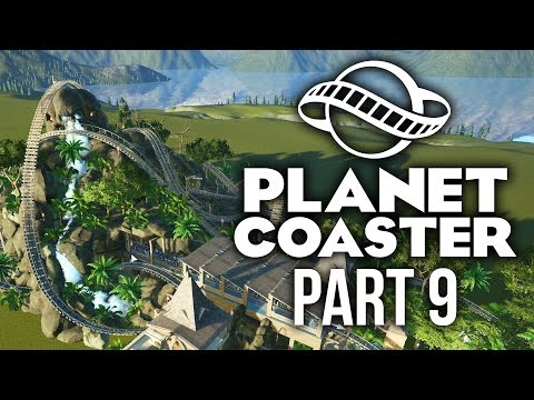 Planet Coaster Gameplay Walkthrough Part 9 - CRAZY PROFIT