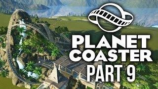 Planet Coaster Gameplay Walkthrough Part 9 - CRAZY PROFIT