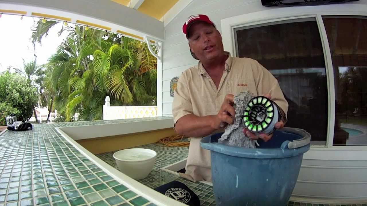 saltwater fly reel care and cleaning by bruce chard - youtube, Fishing Reels