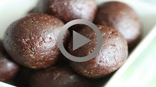 Chocolate Walnut Balls - How To Make Chocolate Walnut Balls At Home