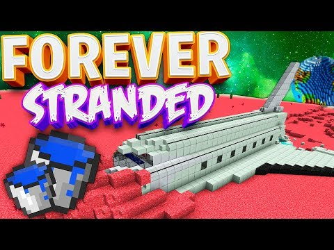 BEN WONT STOP TROLLING ME! - Forever Stranded 2 LOST SOULS Modded Minecraft #3