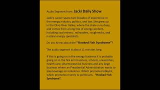 Jacki Daily Show   Hook Fish Syndrome 10 16 2016