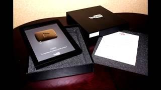 Серебренная кнопка YouTube