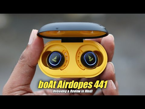 boAt Airdopes 441 True Wireless Earbuds Unboxing & Review in Hindi | Best Earbuds For Bass Lovers