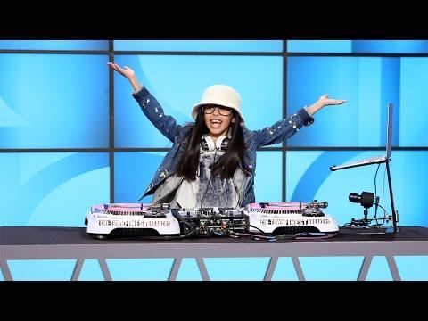 DJ Livia Drops a Beat