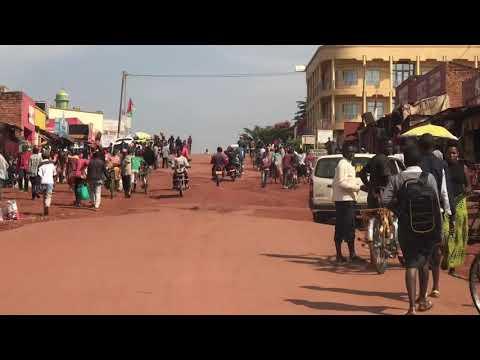 Gitega, Burundi. Former capital of colonial Belgium