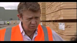 Labour Leader Visits Kawerau Lumber Plant
