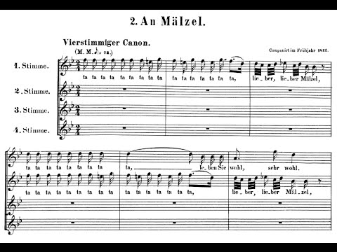 Beethoven - Selected Canons (I)