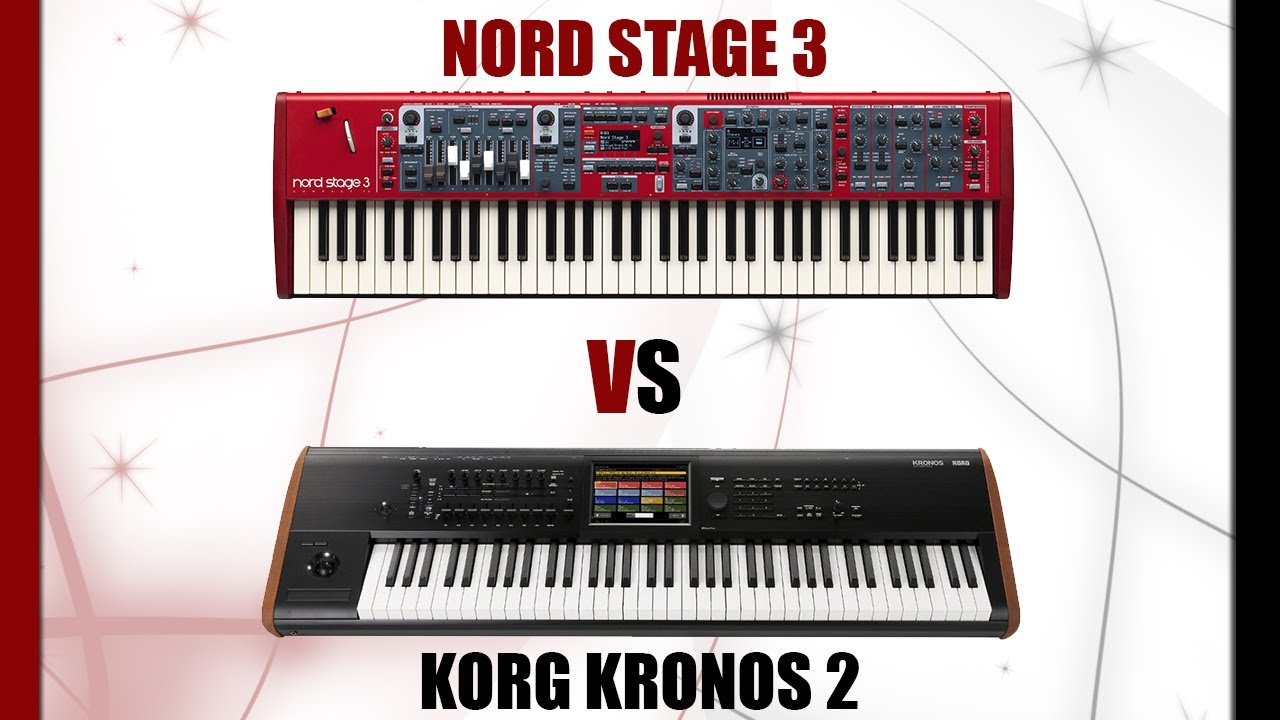 Korg Kronos vs  Nord Stage 3 Comparison and Review