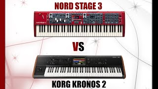 Korg Kronos vs. Nord Stage 3 Comparison and Review