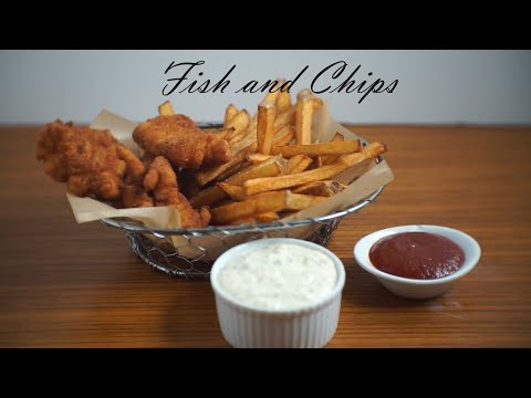 Fish And Chips + Bon Appetit Tartar Sauce Recipe