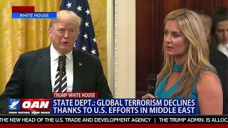 State Dept.: Global Terrorism Declines Thanks to U.S. Efforts in the Middle East