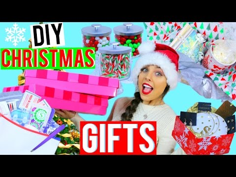 DIY Christmas Gifts | Easy + Last Minute Present Ideas! Kristi-Anne Beil