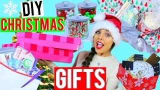 DIY Christmas Gifts | Easy + Last Minute Present Ideas! Kristi-Anne Beil