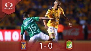 Tigres toma ventaja en la final | Tigres 1 - 0 León | Clausura 2019 - Final Ida | Televisa Deportes