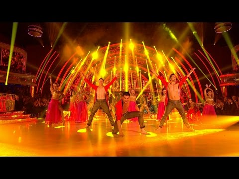 Strictly Pros Bollywood Dance for Around the World Week - Strictly Come Dancing: 2014 - BBC One