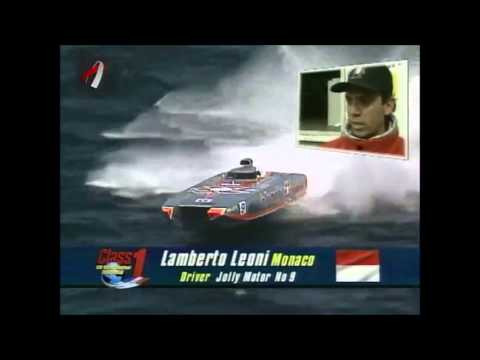 Class 1 Norwegian Grand Prix 1998 Arendal(crash,submerged, boat on fire)-long version