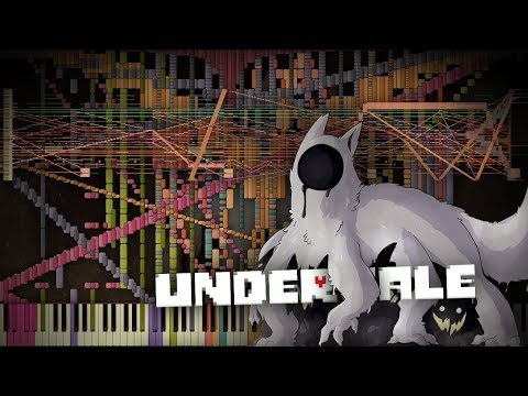 Synthesia: Undertale - Amalgam | 26,000+ Notes | Black MIDI