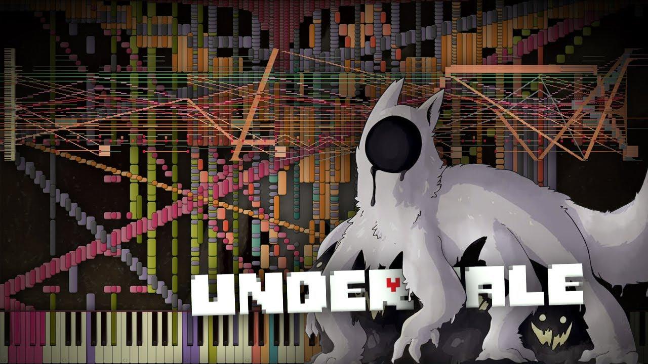 Synthesia: Undertale - Amalgam | 26,000+ Notes | Black MIDI
