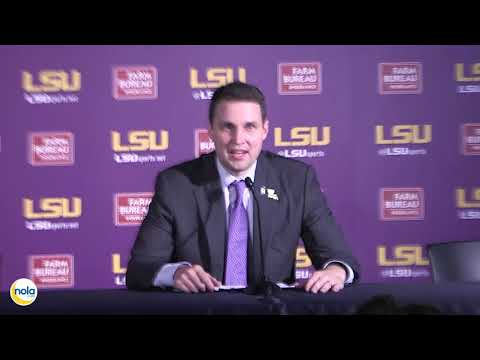 LSU's WIll Wade FULL Tennessee Press Conference