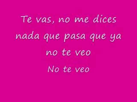 No Te Veo - Jowell Y Randy lyrics/letras