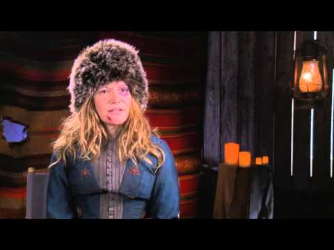 "The Hateful Eight: Jennifer Jason Leigh ""Daisy Domergue"" Behind the Scenes Interview"