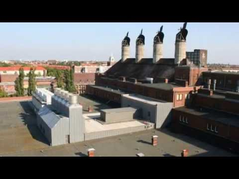 Frisch vom Dach To Convert Former Berlin Malt Factory Into a Rooftop Aquaponics Farm!