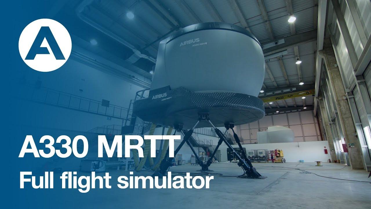 A330 MRTT Full Flight Simulator