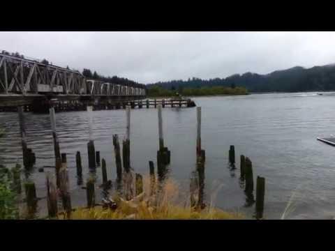 Reedsport Oregon Fishing and Bridges!