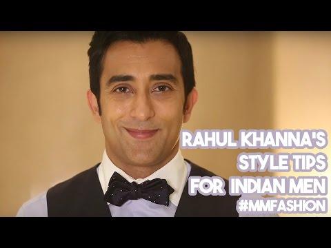 Rahul Khanna's Style Tips For Men