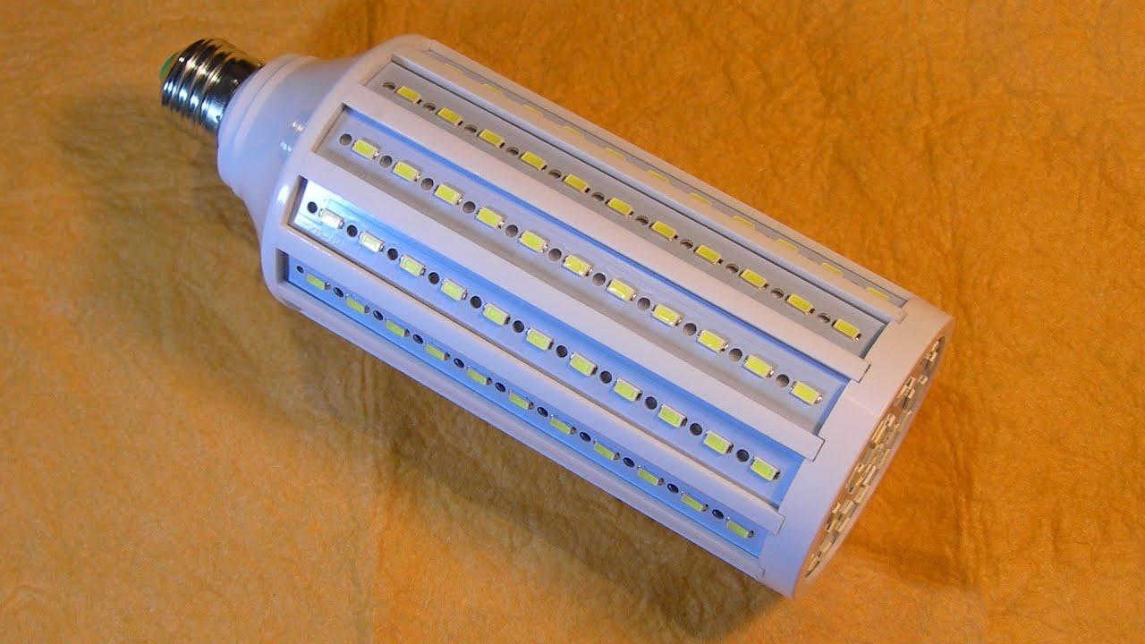 "Светодиодная Рампа ""50W"" 165 LED 5630 SMD E27 220V"