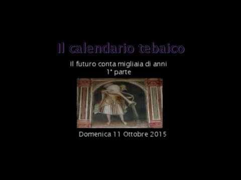 Calendario Tebaico.Calendario Tebaico 01