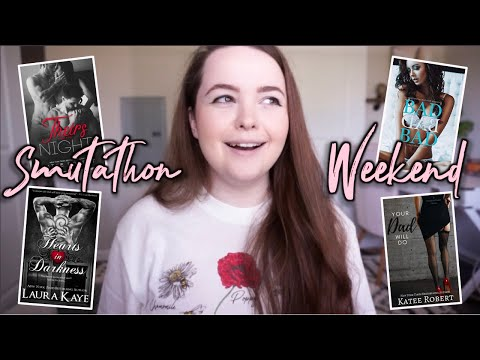 6 steamy romance books i read for smutathon weekend // READING VLOG!