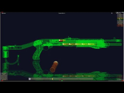 How does SPAS-12 Work in 3D Animation